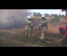 Пожарные призывают быть внимательней во время жарких дней