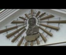 Золотой купол и крест украсили часовню