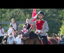Парад 2020: выступление конного парадного расчета МВД