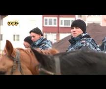 Патрульный на коне лучший способ воздействия на нарушителей порядка