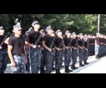 Новобранцы пополнили ряды внутренних войск МВД