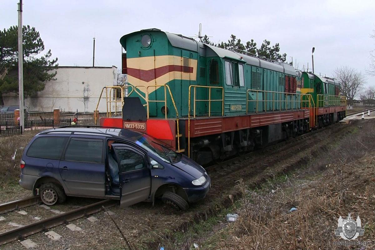 Авария на железнодорожном переезде