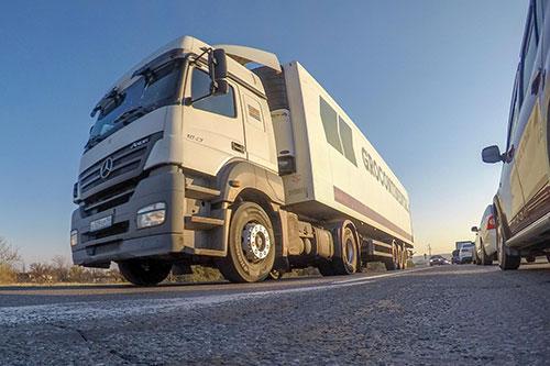 Правила передвижения грузовиков
