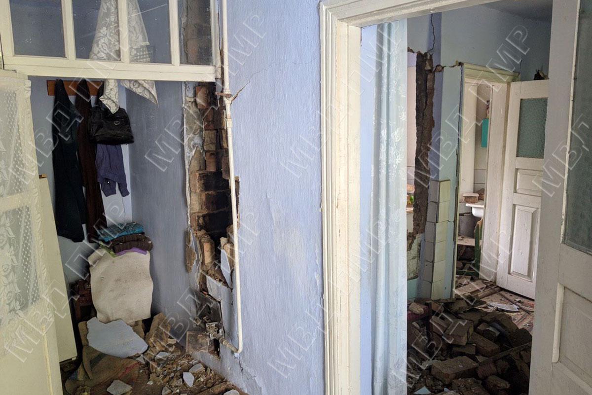 Взрыв в доме