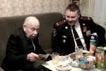 Руководители УВД г. Бендеры посетили ветеранов Великой Отечественной войны