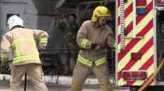 Новая пожарная техника «в бою»
